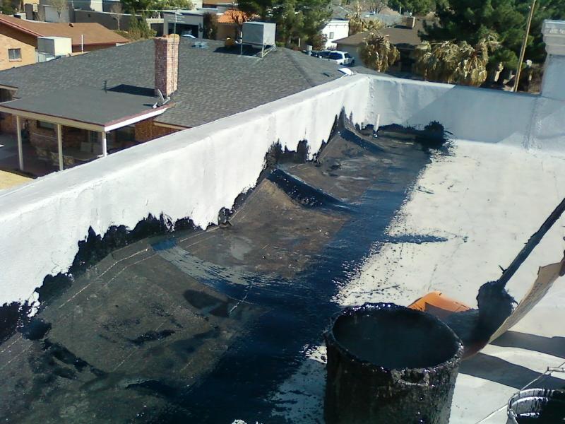 Superb Hot Tar Roof Repair